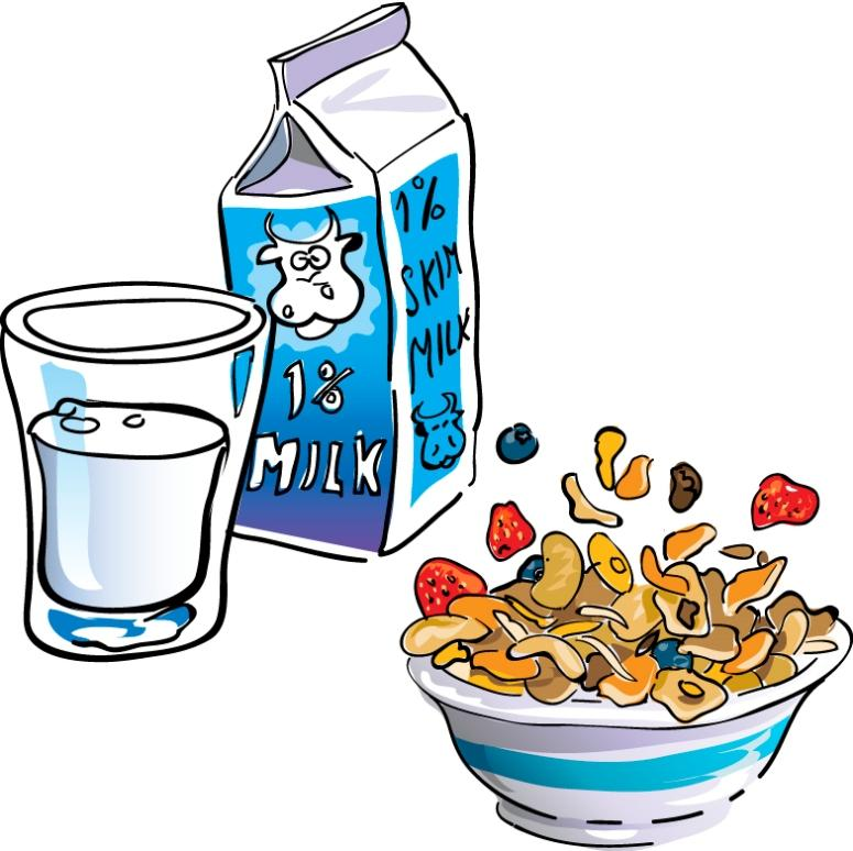 ... cereal_milk.jpg Clipart - Free Nutrition and Healthy Food Clipart