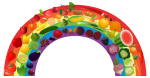 Rainbow_1.png - Fruit, vegetable, rainbow, image, n