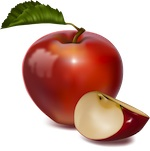 apple_2a.jpg - apple, nutrition, slice, fruit