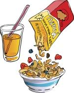 Breakfast - Cereal & OJ