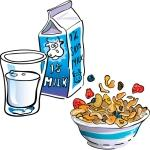 Breakfast - Cereal & Milk