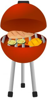 BBQ_Fish_and_Veg.jpg - BBQ, Barbeque, fish, vegetables, me