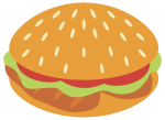 Chicken_Burger.png - Burger, Fast, food