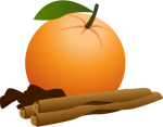 Christmas_Orange.png - Christmas, December, Orange, Fruit