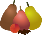 Christmas_Pear.png - Christmas, December, pear, Fruit