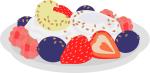 Fruit_Salad.png - Fruit, Salad, strawberries, berry,