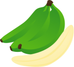 Green_Bananas.png - Green, Bananas, fruit