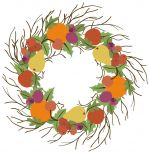 Holiday_fruit_Wreath.jpg - Holiday wreath