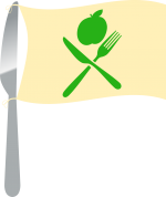 Knife_Flag.png - Nutrition Month, Forks, Knives, ban