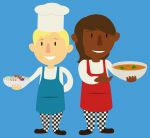Little_Chefs.jpg - Little, chef, cooking, together, cl