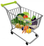 Shopping_cart.jpg - Shopping, cart, vegetables, fruit,