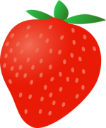 V_strawberry1.png - Valentines Day, Fruit, Strawberry,