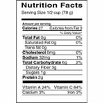 nutritionlabel_broccoli.jpg - Nutrition Facts Label Broccoli